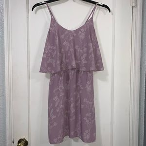 Old Navy Purple and White Floral dress